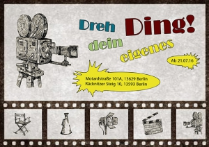 Filmflyer Vorne